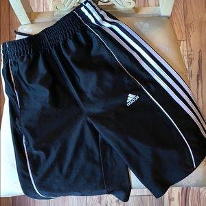 GUC Boys Adidas black athletic shorts - size S